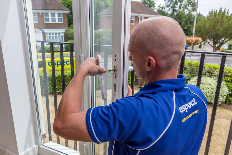 uPVC door repairs in London