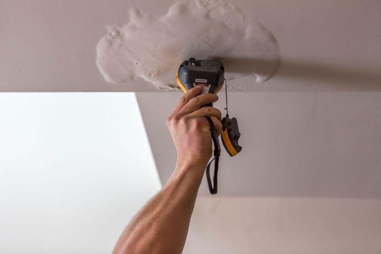 Leak detection techniques; moisture meter