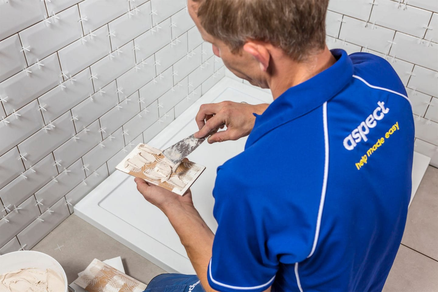 Plastering and tiling company in London
