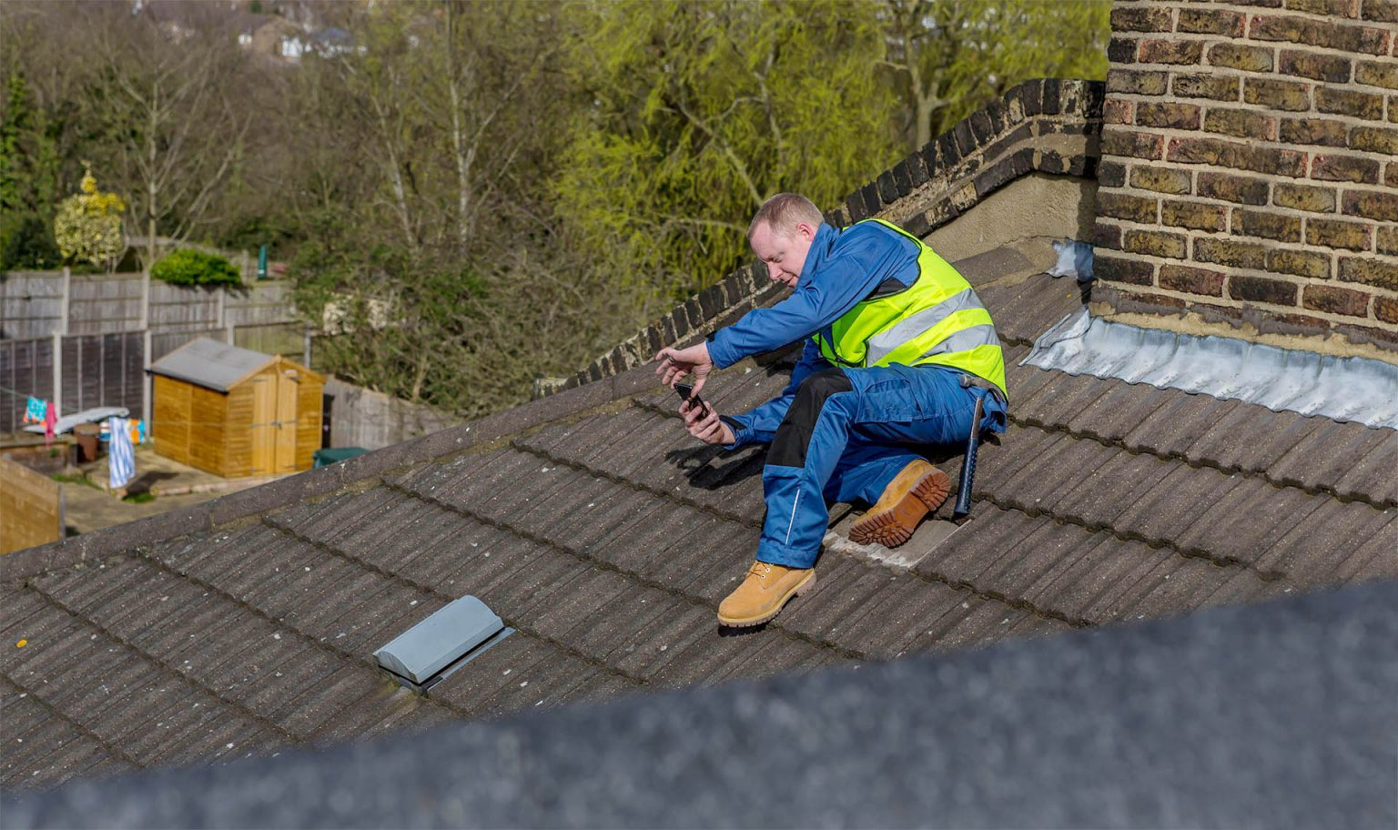 Pre-purchase roof survey and inspection