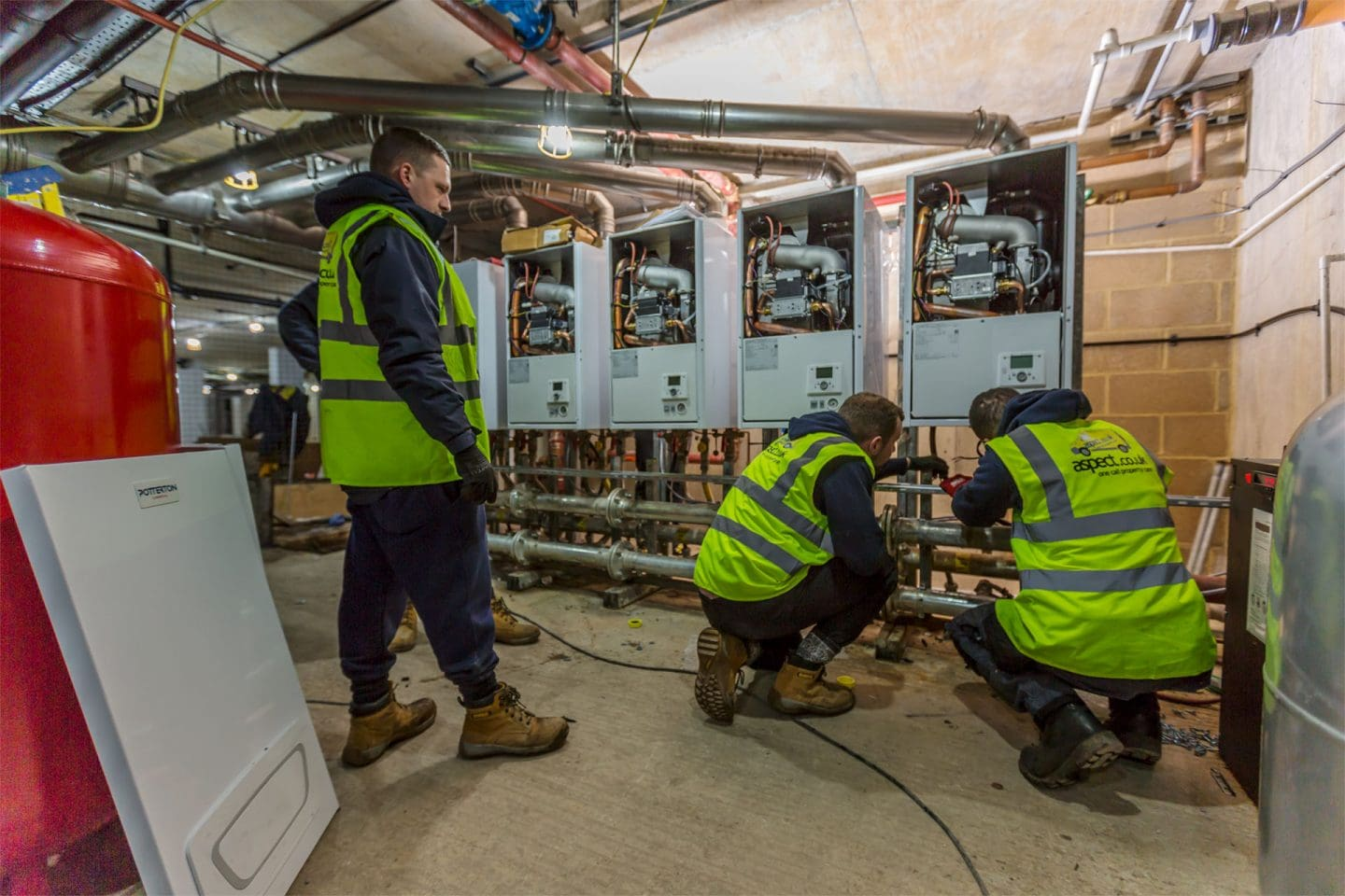 New boiler installations by London gas engineers